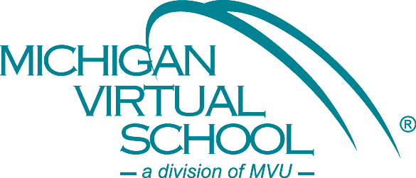 Michigan Virtual School Logo