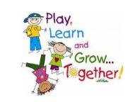 Play Learn and Grow Together Clipart