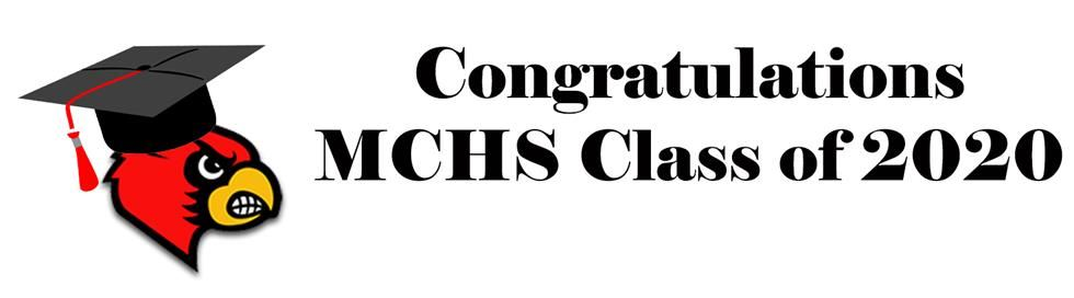 MCHS Class of 2020 Banner
